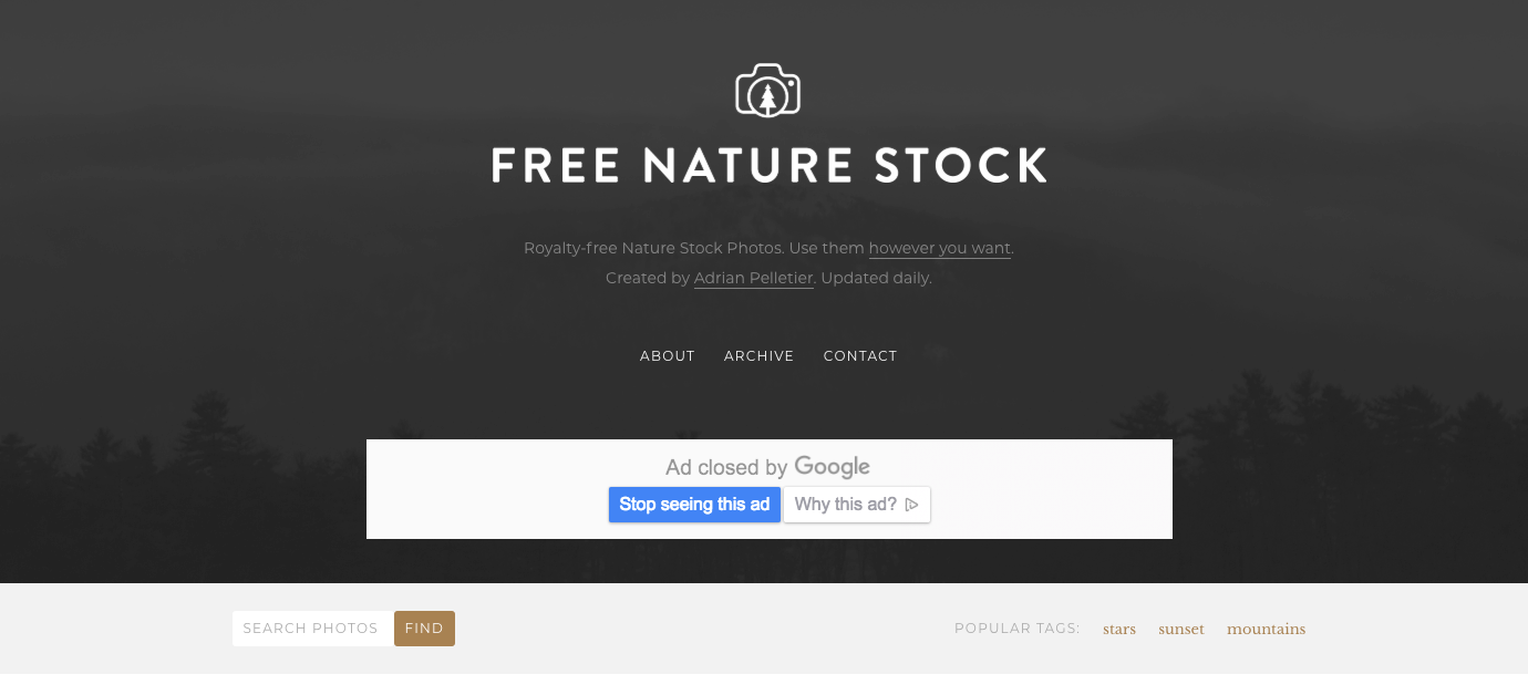 Free Nature Stock Photos