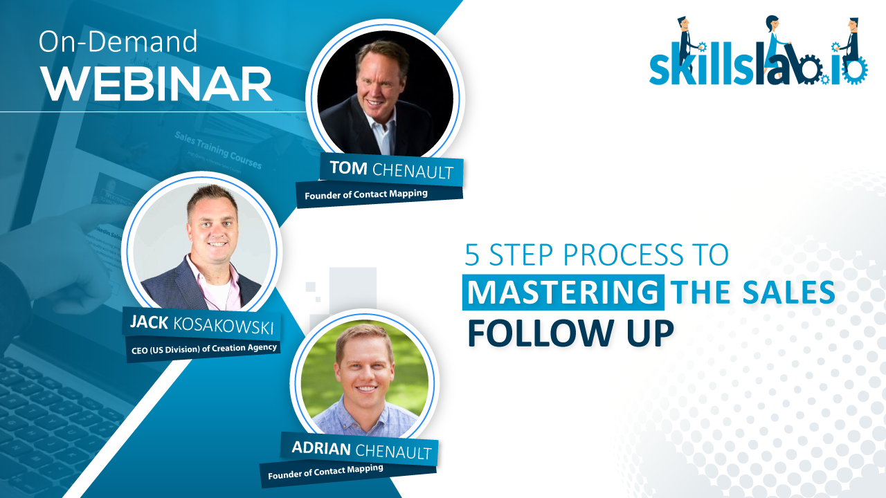 5 Step Process To Mastering The Sales Follow Up