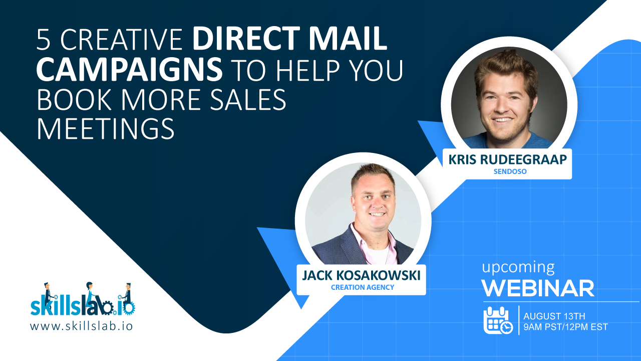 5 Creative Direct Mail Campaigns to Help You Book More Sales Meetings