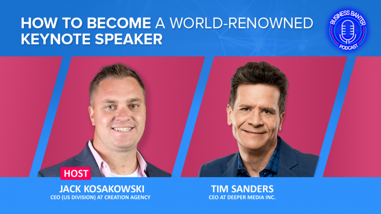 How To Become A World-Renowned Keynote Speaker